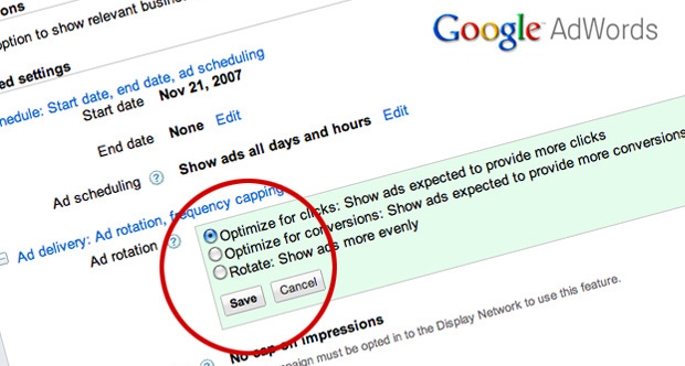 تنظیمات کمپین تبلیغاتی گوگل ادوردز: تحویل، آمار جمعیتی، پلاس وان