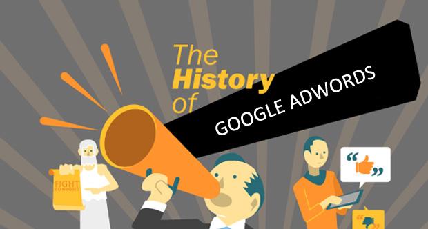 تاریخچه تبلیغات اینترنتی گوگل