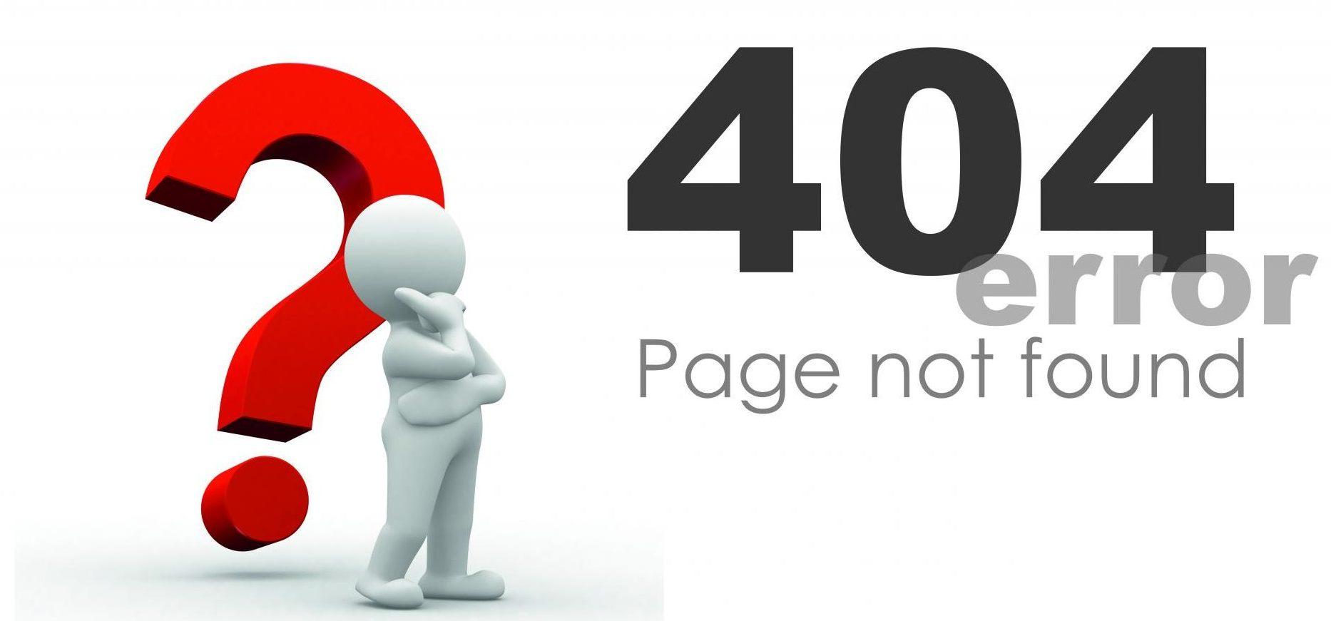 صفحه 404 در تبلیغات گوگل
