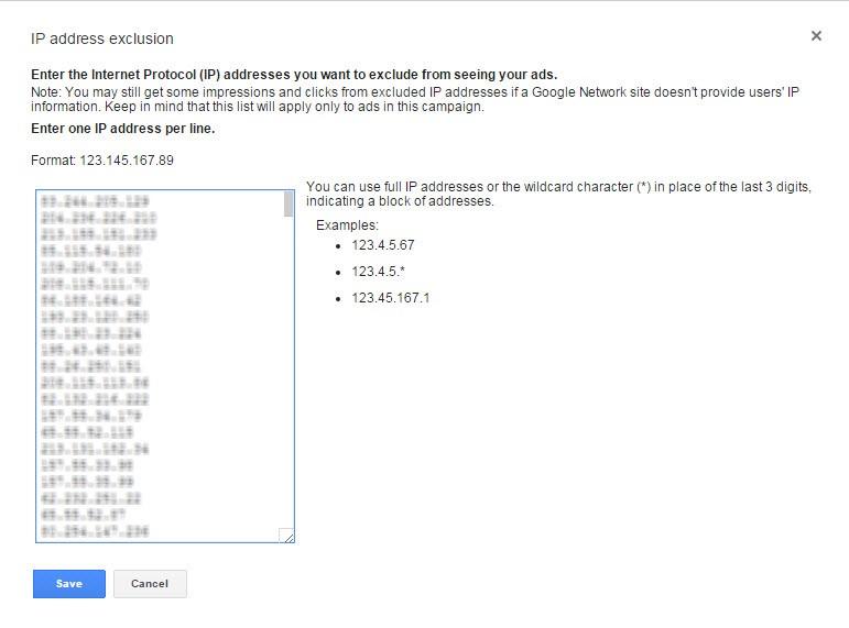 بلاک بودن IP