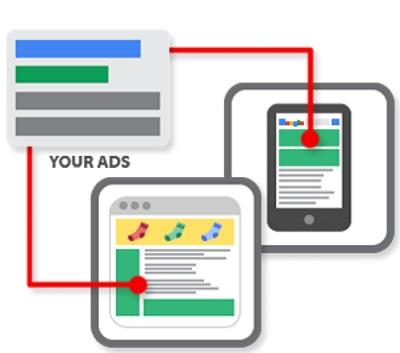 شبکه نمایشی و شبکه جستجو گوگل