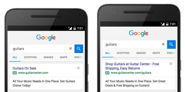 تبلیغات گسترشیافته گوگل ادوردز
