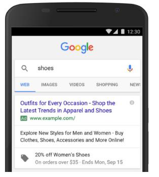 نمایش تخقیقات ویژه تغییرات گوگل ادوردز