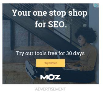 یک تبلیغ مناسب از Moz
