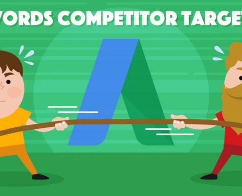 تبلیغات در گوگل با استراتژی هدفگذاری رقبا و هدفگذاری کلیدواژههای رقبا